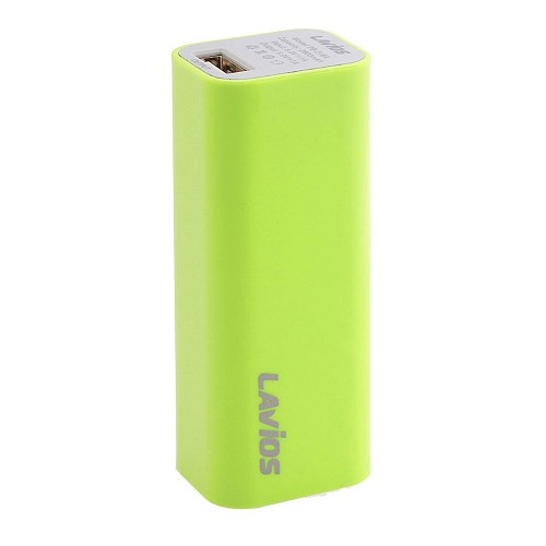 LAVIOS Powerbank Pure 2600 mAh [PB-216A] - Green - Portable Charger / Power Bank